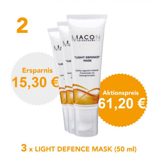 LIGHT DEFENCE MASK - 3er Set